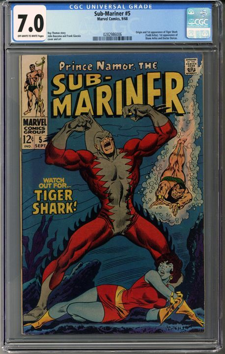 Sub-Mariner #5  C... in great condition!     http://coloradocomics.com/products/sub-mariner-5-cgc-7-0?utm_campaign=social_autopilot&utm_source=pin&utm_medium=pin