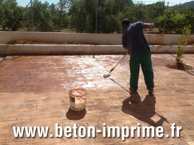 Terrasse en Béton Imprimé Paris   beton-imprimefr/ #terrasse - Faire Une Terrasse En Beton Cire
