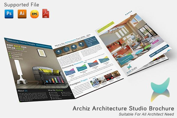 Archiz Architecture Studio Brochure By Broewnis Labs On