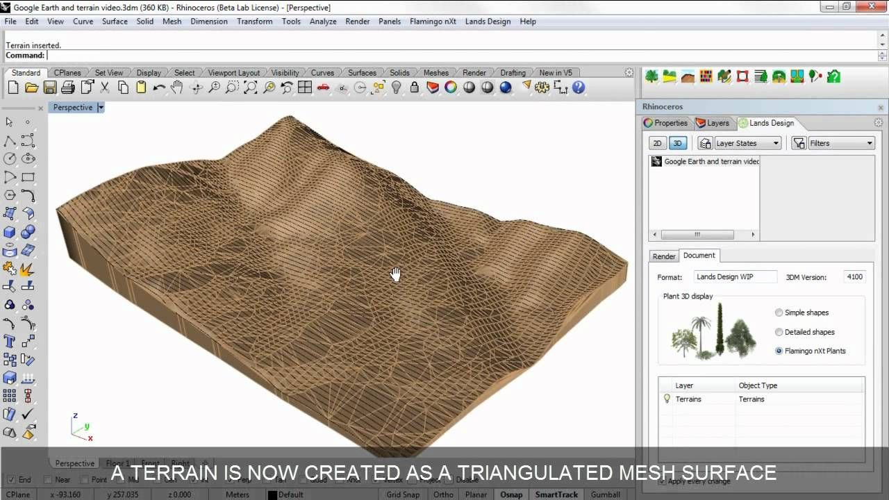 Scan and import a terrain from Google Earth   Fusion 360
