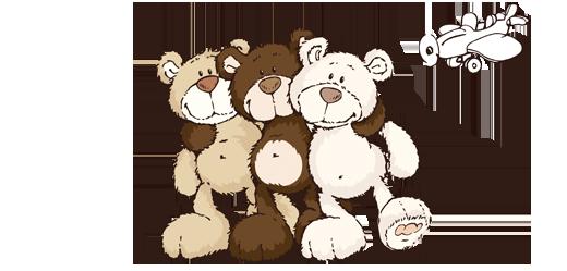 classic bear 3 - nici.de | clip art, cute pictures