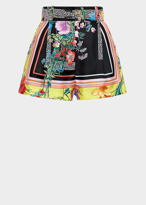 9b1d564278 Bloom Print Silk Shorts for Women | US Online Store in 2019 | PANTS ...