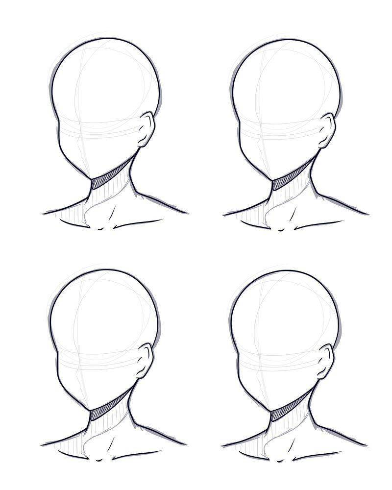 Head Design Base Sketch And Lineart By Sayuqt On Deviantart Head Design Base Sketch And Lineart B In 2020 Anime Drawings Tutorials Anime Drawings Sketches Drawings