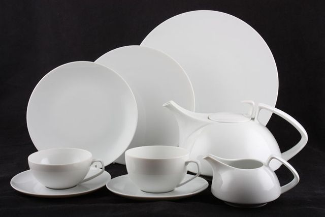Walter Gropius Tac 1 Tea Set 1969 For Rosenthal Home Life