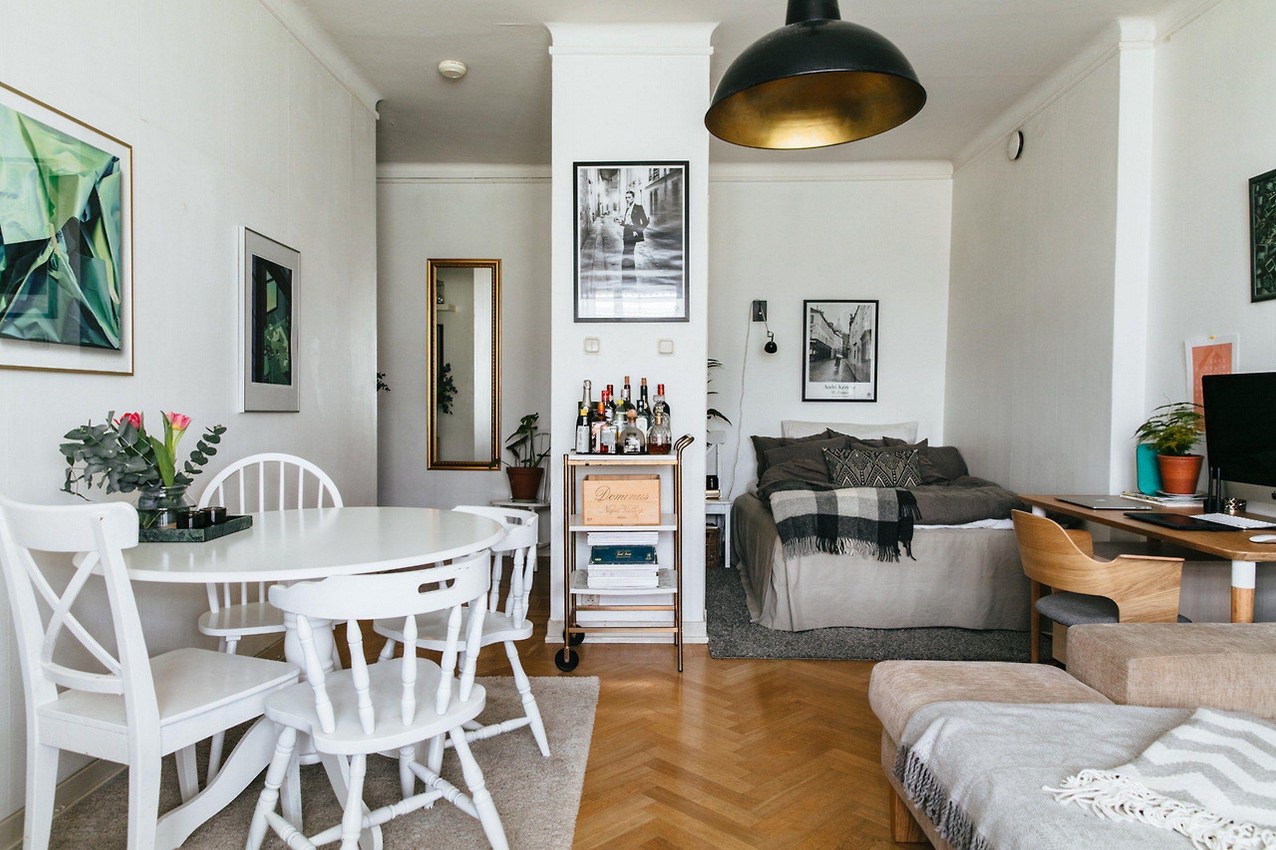 Small apartment decorating inneneinrichtung in 2018 studio