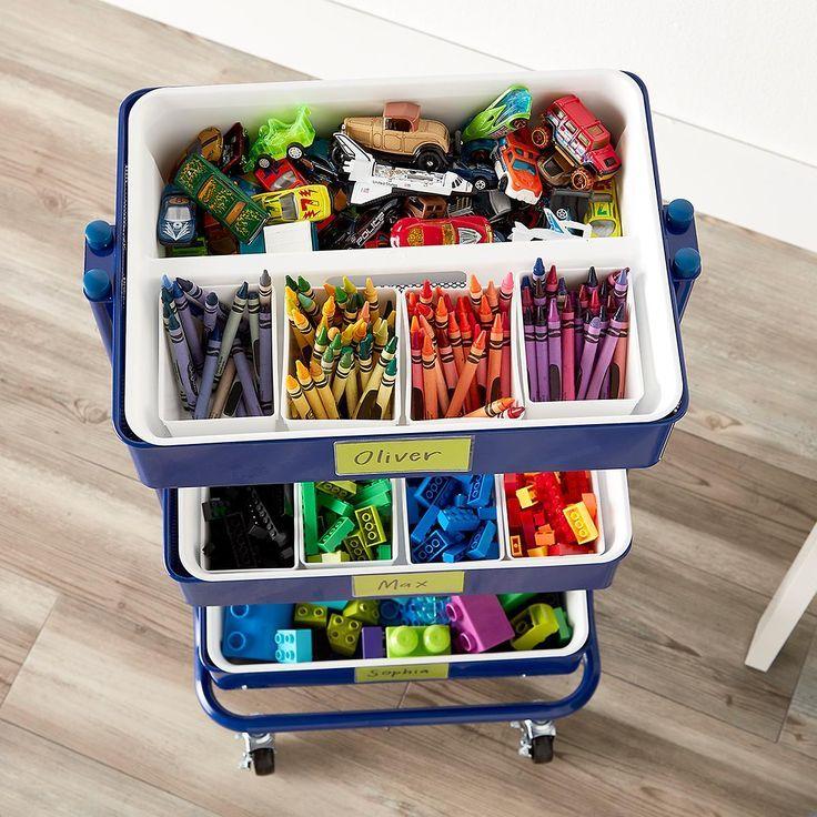 rolling cart art supplies