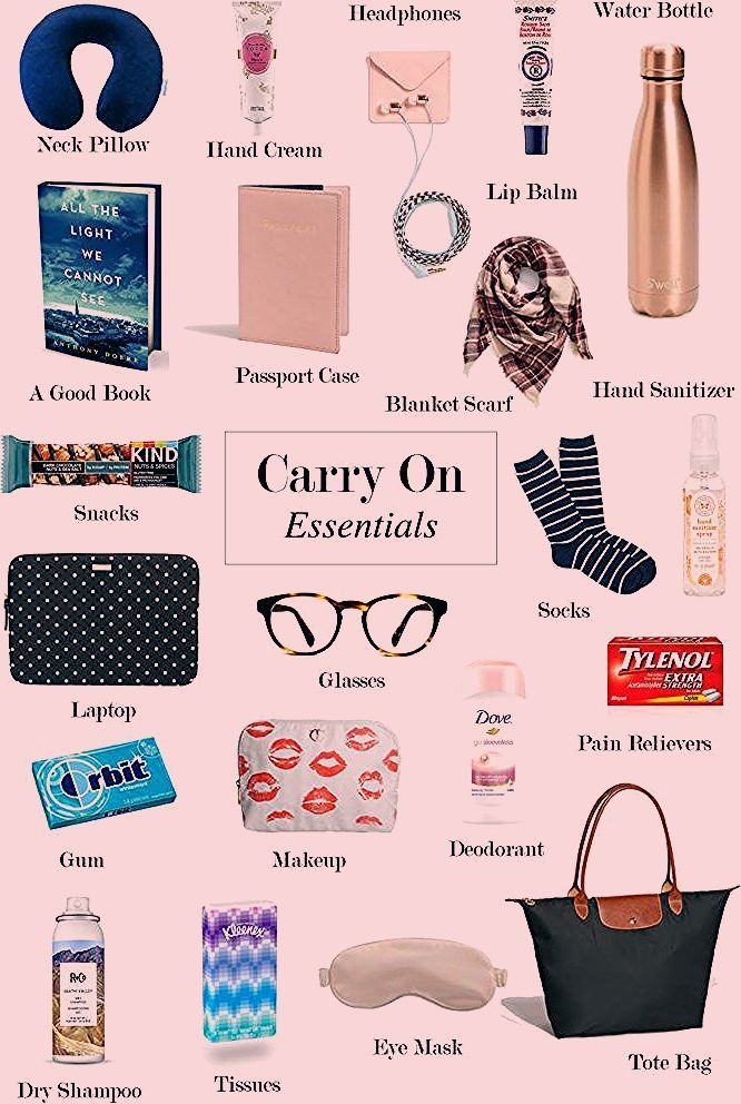Photo of Carry On Essentials   Seventeen Dresses   San Diego Life & Style Blog