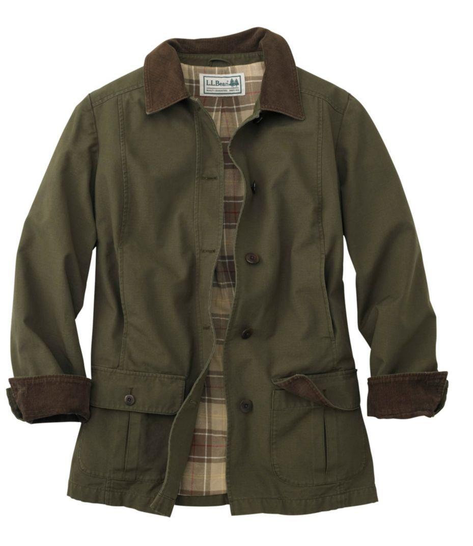 Women's Adirondack Barn Coat, Flannel-Lined | Womens ...