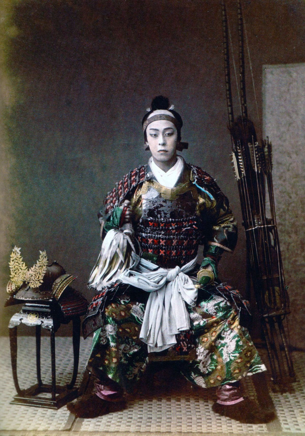 Rare color samurai photos 64