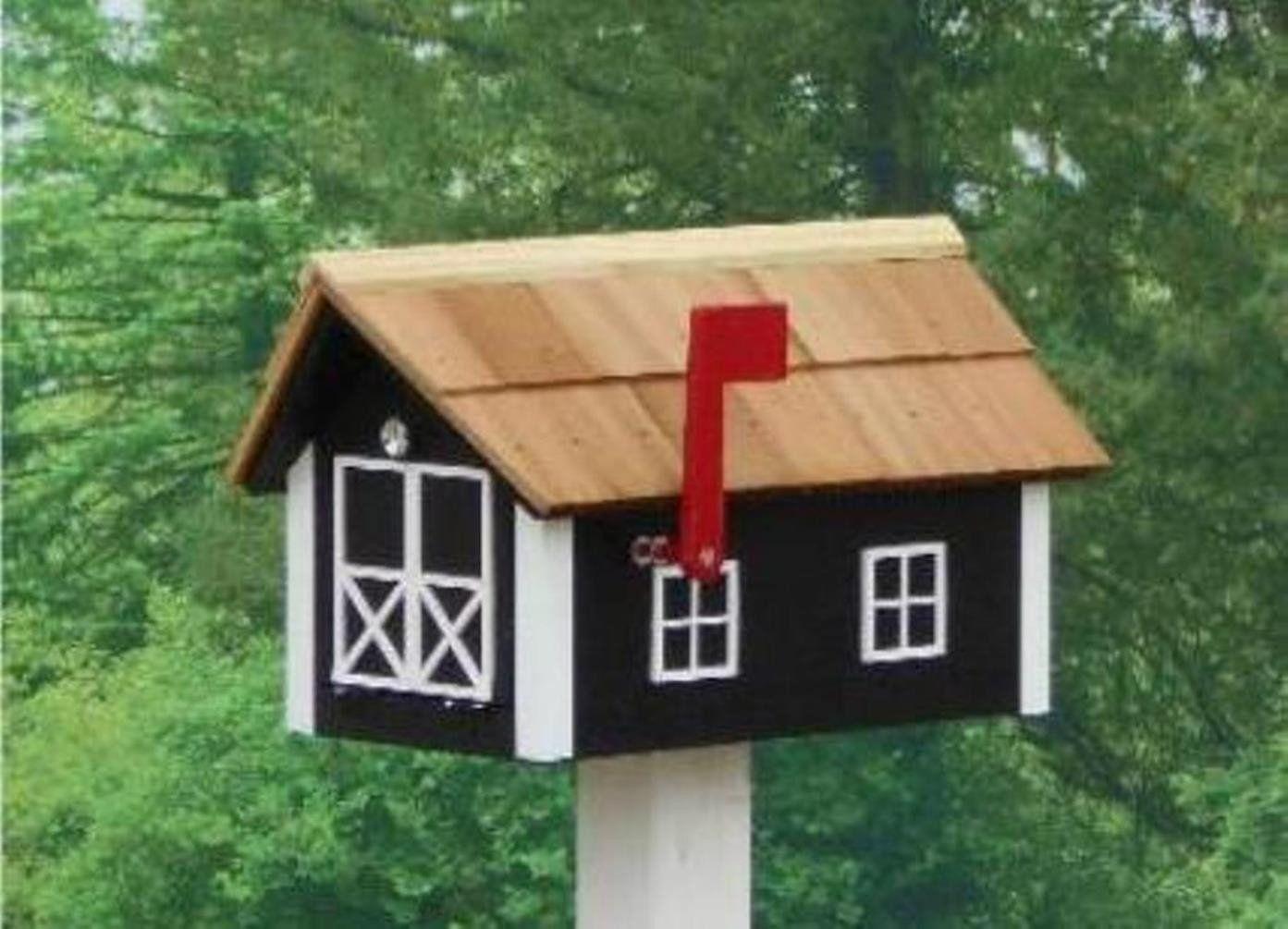 Best Amish Made Painted Mailbox Wooden Mailbox Mailbox Amish 400 x 300