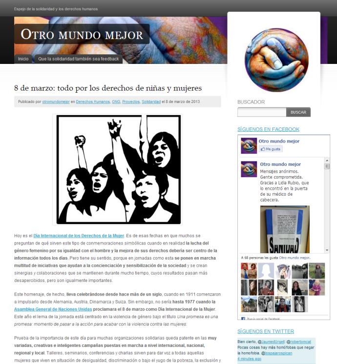 Tema WordPress ideal para Sitios Web Solidarios (ONGs) | Plantillas ...