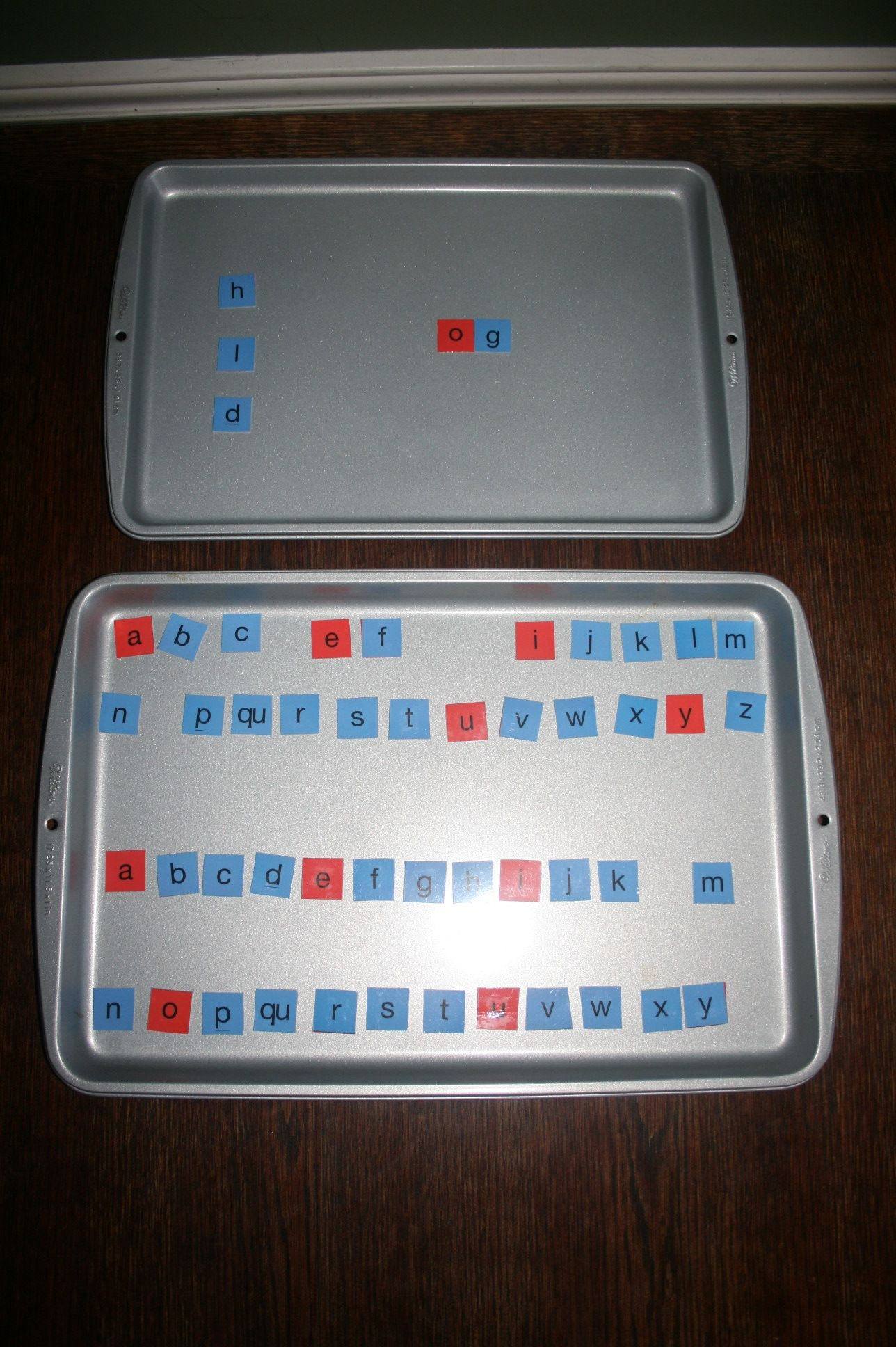 Magnetic Letters For Spelling