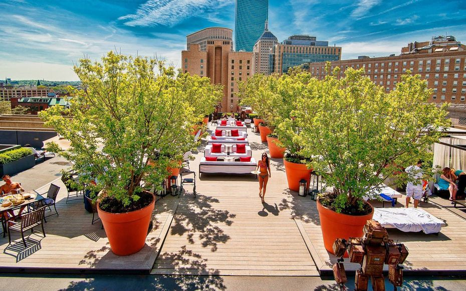 Hotel Pools For Non Guests Boston Hotels Best Rooftop Bars Rooftop Bar