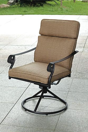 Arlington Swivel Rocker At Menards 59 Also Has Matching Cafe Table Outdoor Chairs Cafe Tables Backyard Deck