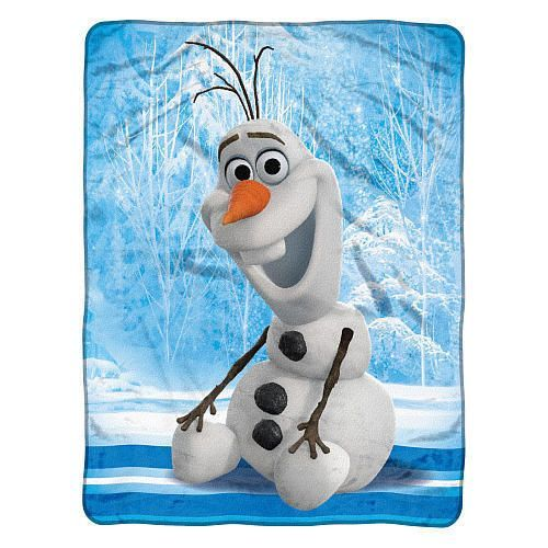 Frozen Disney Blanket 46x60 Micro Fleece Chills & Thrills Z157-8791828617