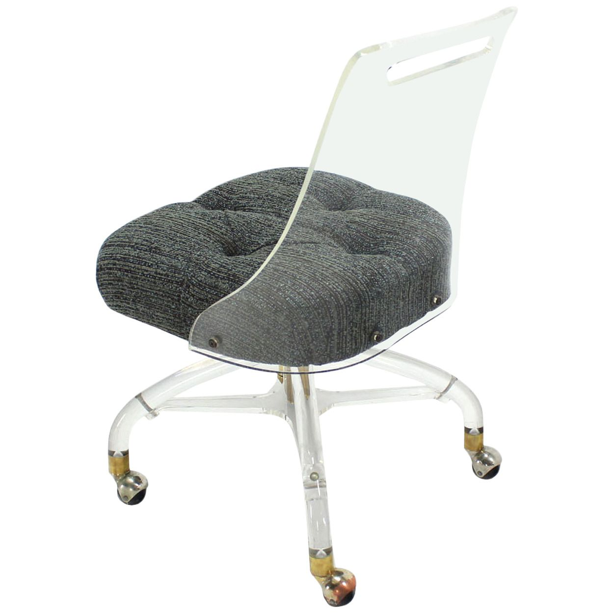 Superieur Mid Century Modern Lucite Desk Chair | From A Unique Collection Of Antique  And Modern Armchairs At Https://www.1stdibs.com/furniture/seating/armchairs/