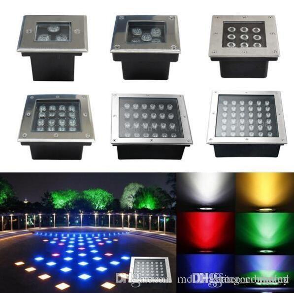 Wholesale LED Underground Light Sqaure 3W 4W 5W 6W 9W 12W ...