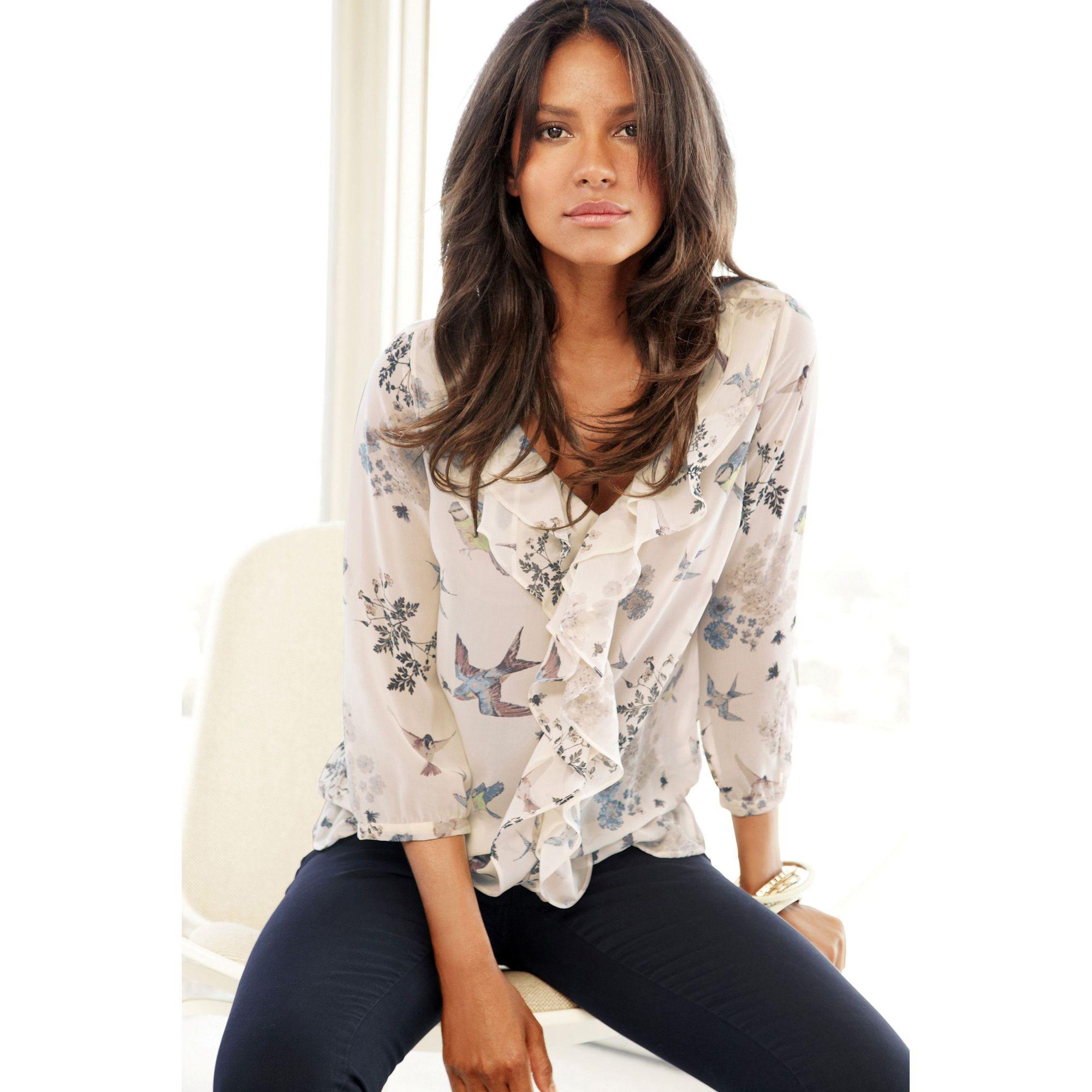 leChouchou.com : Haut imprimé couleur crème NEXT Next- mode - Femme - T-shirt et débardeur -