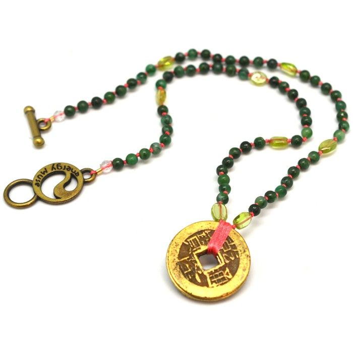 Prosperity Necklace with Peridot