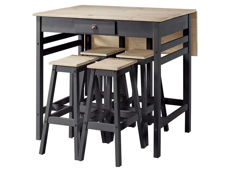 Ensemble Table Et Chaises De Cuisine Sharona Vente De Ensemble