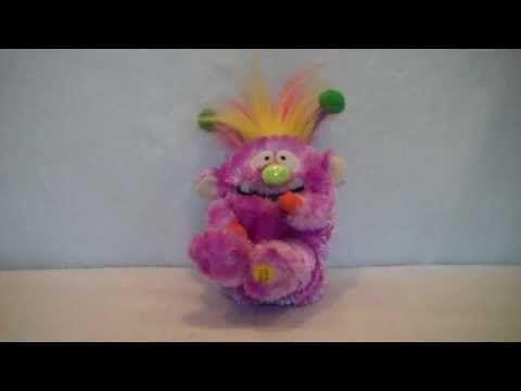 Singing Purple Monster By Gemmy Industries