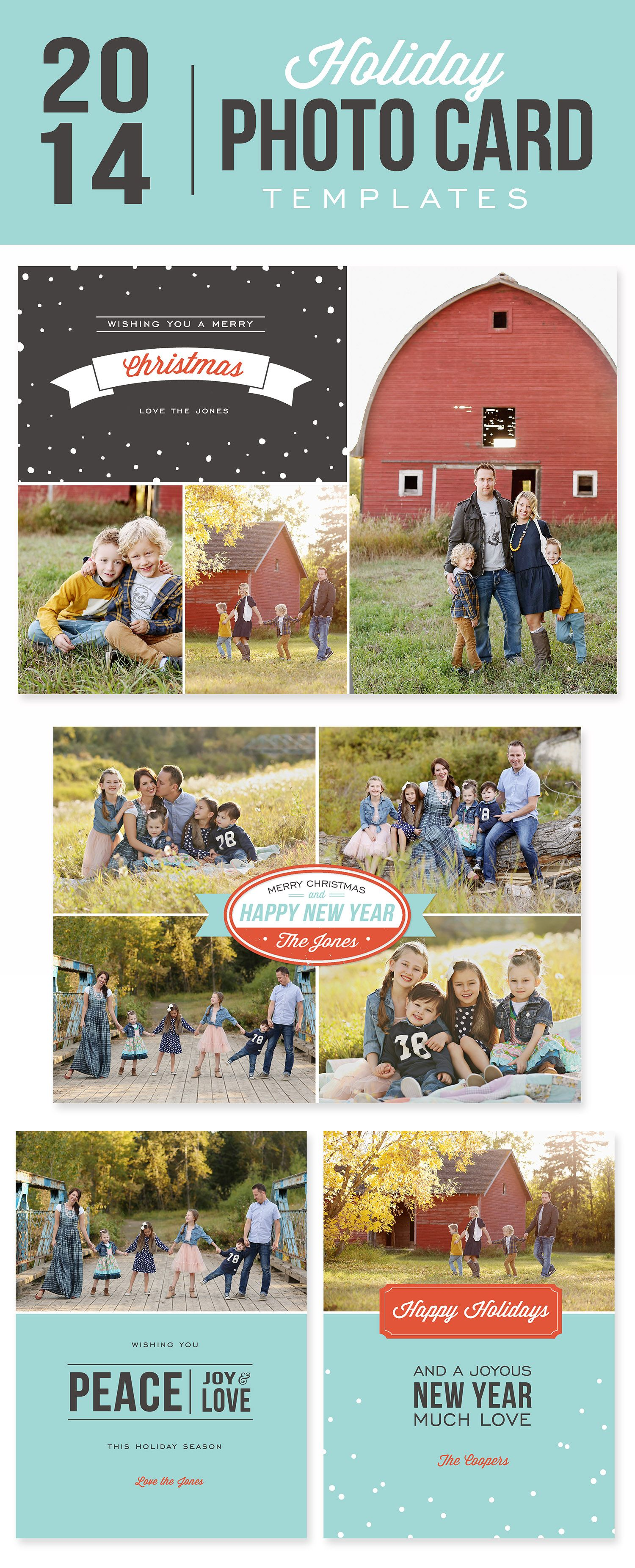 DIY Photo Cards using Digital Templates Photo cards Template and