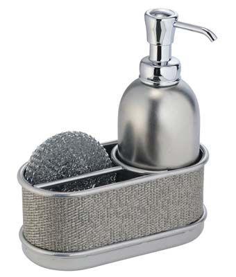 mdesign kitchen sink soap dispenser
