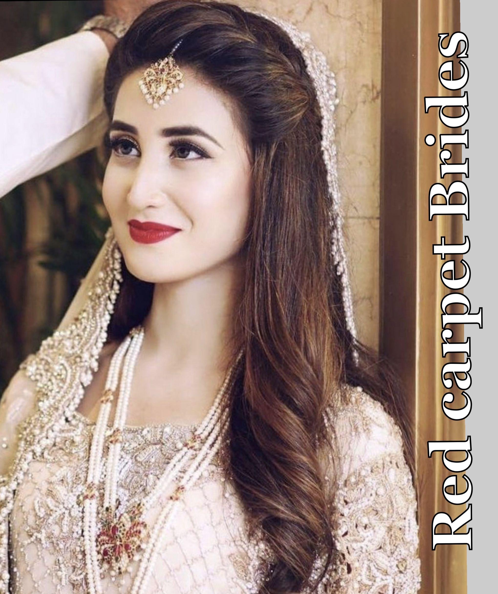Long Hair Pakistani Wedding Hairstyles For Girls