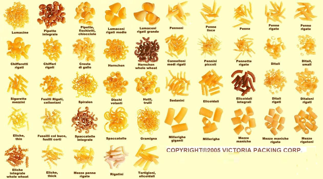 how to make different pasta shapes