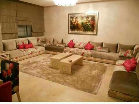 Pingl par safi sur ameublement et construction marocain Rideaux salon moderne 2017