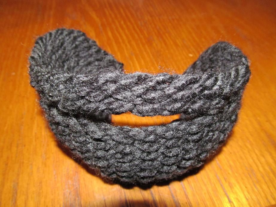 Best Loom Knit Pattern for Beard with by Cre8tiveCorner on ...