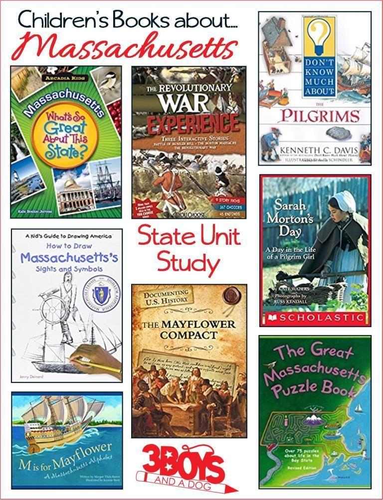 Childrens Books About Massachusetts Free Homeschool Printables