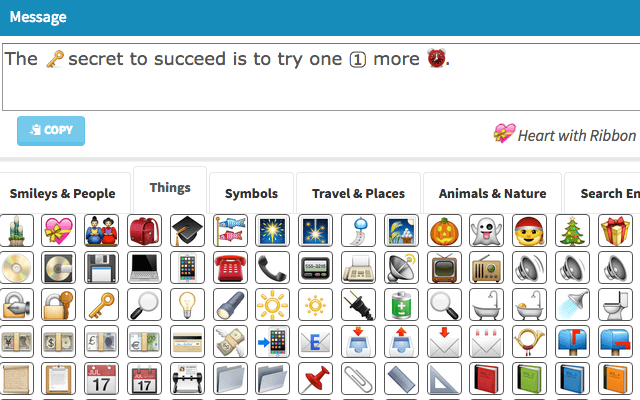 An Online Emoji Keyboard That Lets You Input Smiley Faces