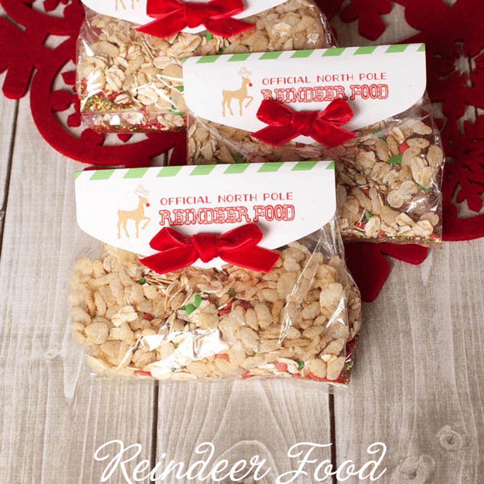 Reindeer Food Recipe And Free Printable Tag