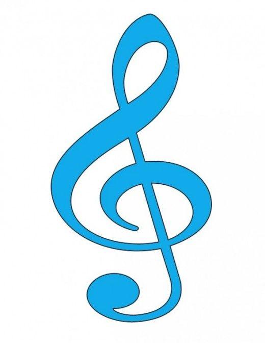 Free Clip Art Music Symbols Treble Clef G Sleutels Music