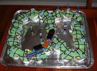 Image detail for -This cute train cupcake idea was submitted by my friend Katherine. See ...