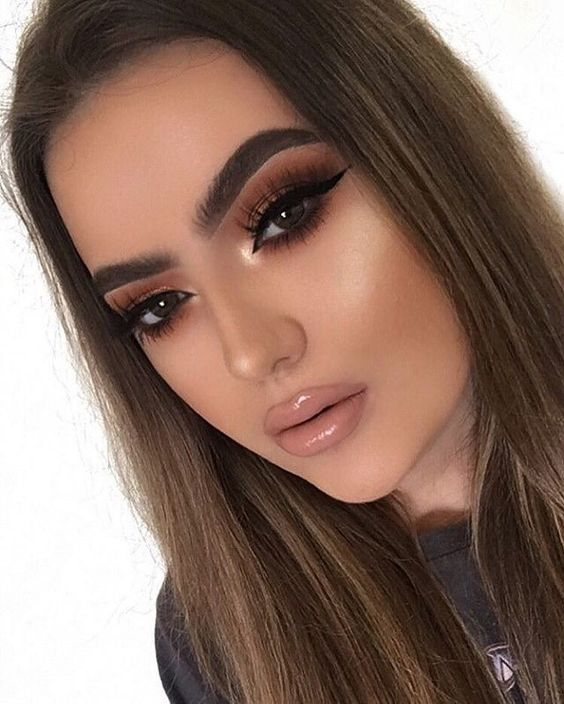 The Instagram BADDIE Makeup Look | Instagram Makeup | Skin ...