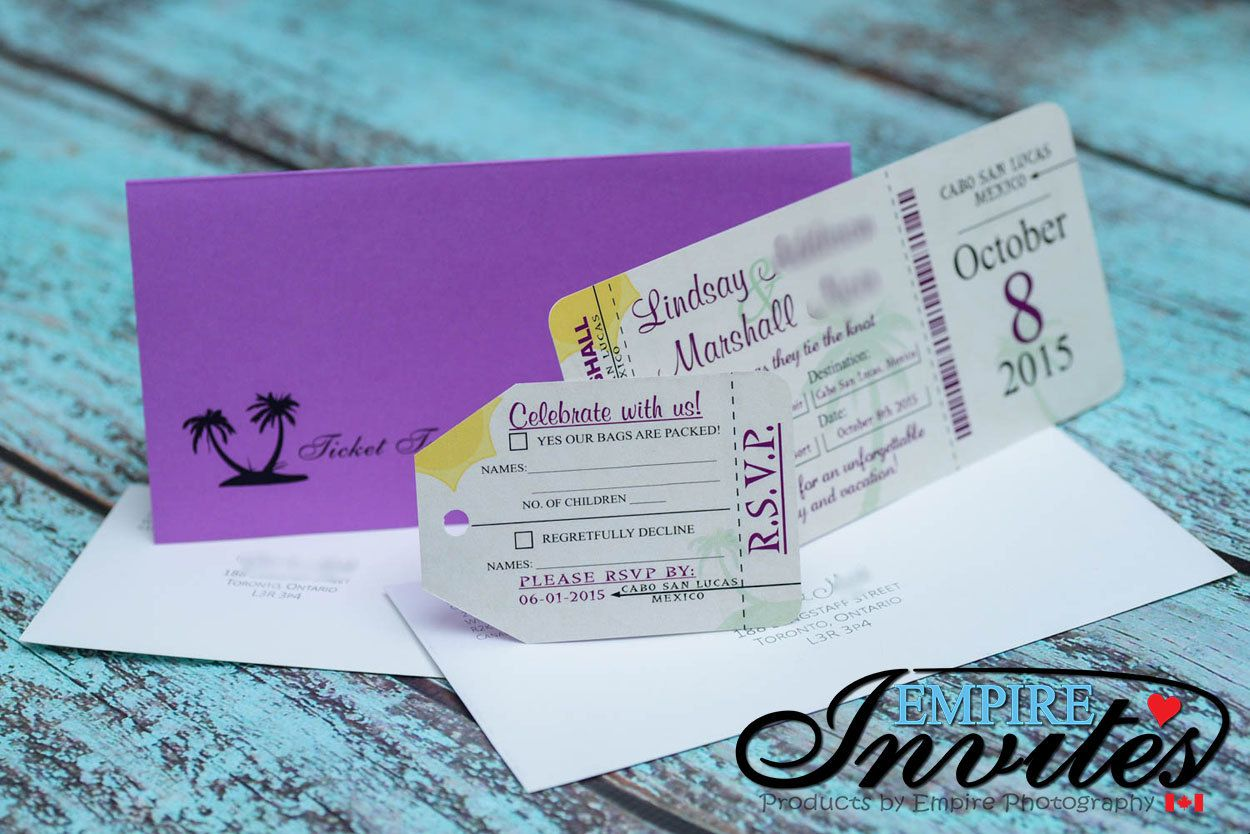 Boarding Pass Wedding Invitations, Destination Wedding Invitation | Custom  Handmade Designs by Empire Invites | Boarding pass wedding invitation,  Destination wedding invitations, Wedding invitations