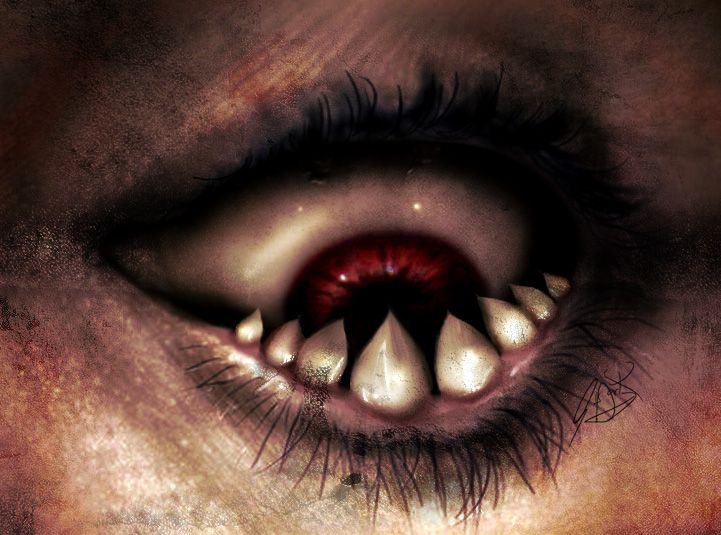 Pin by Diane Freyer on Eyes Have It***! | Scary eyes ...