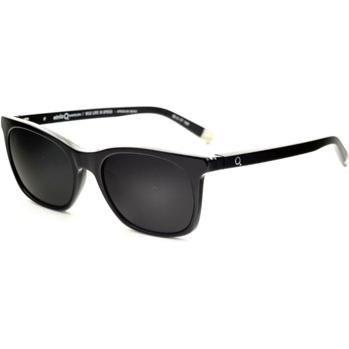 Etnia Barcelona Africa08 Sunglasses in Black Horn as seen on Kaley Cuoco