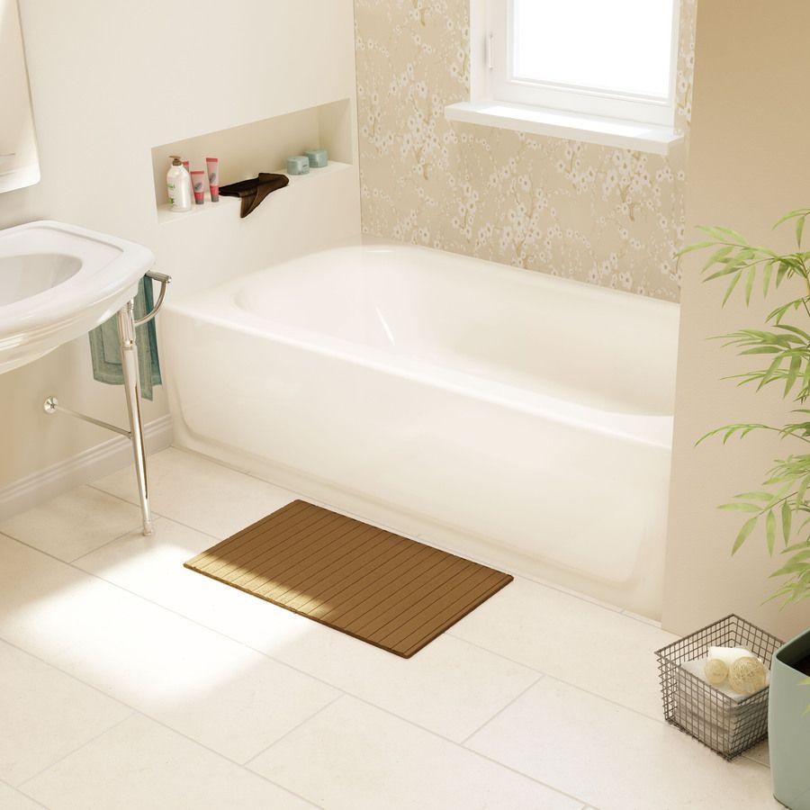 Product Image 2 Enameled Steel White Enamel Small Bathtub