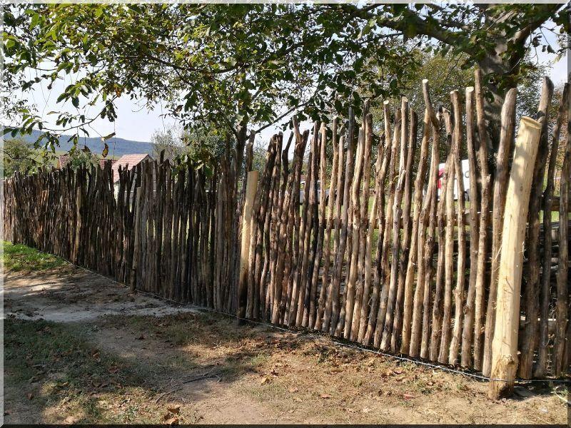 Atemberaubend Zulu Zaun, 6 - 8 cm | Zulu Zäune | Holzzaun, Rustikaler zaun und Zaun &MO_28