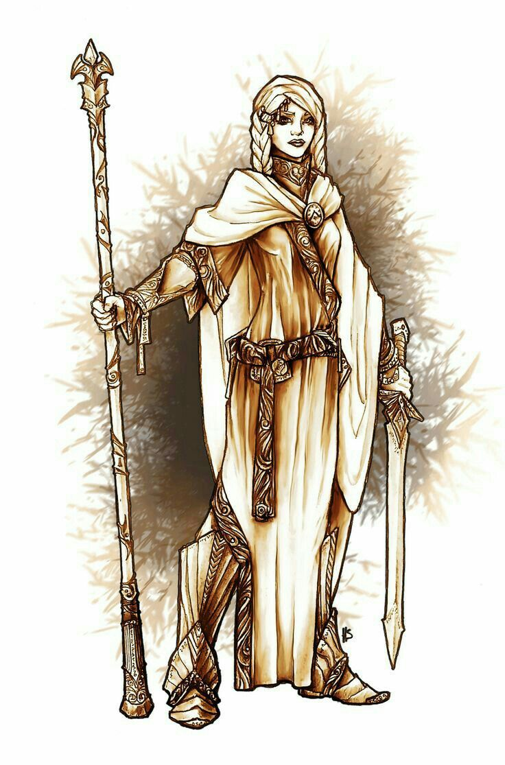 Female Human Oracle - Pathfinder PFRPG DND D&D d20 fantasy