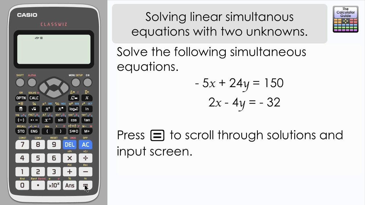 Pin By The Calculator Guide On Casio Classwiz Fx 991ex Fx 570ex