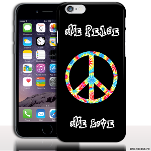 coque iphone 6 peace and love