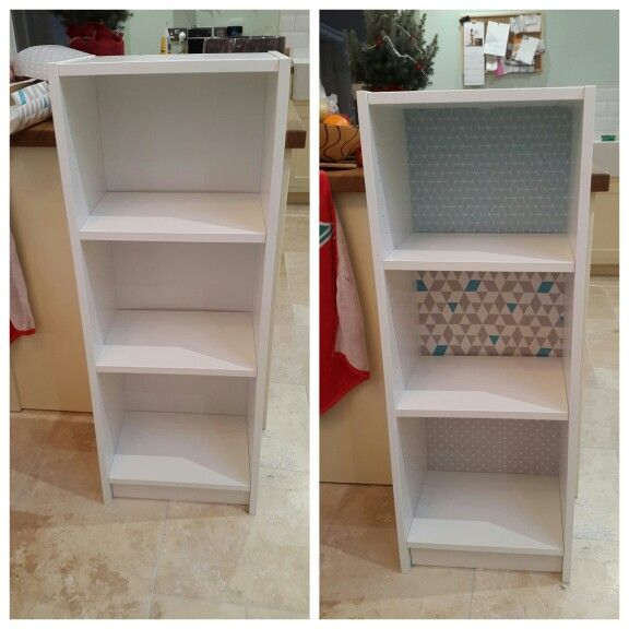 Nursery Storage Completed Using Ikea Billy Bookcase And