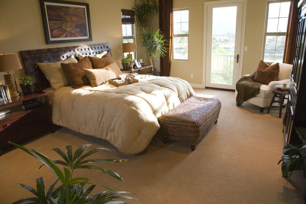 500 Custom Master Bedroom Design Ideas for 2018 | Wicker ottoman ...