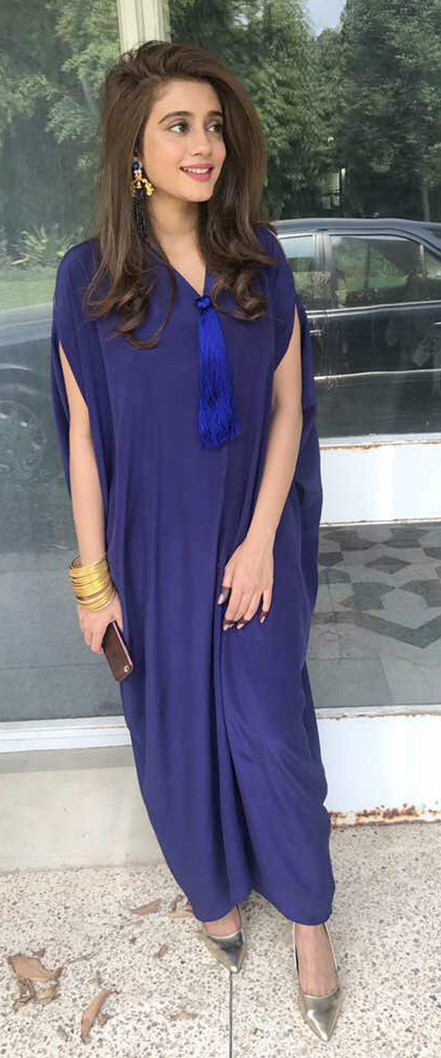 Beautiful royal blue kaftan dress modest fashion pinterest