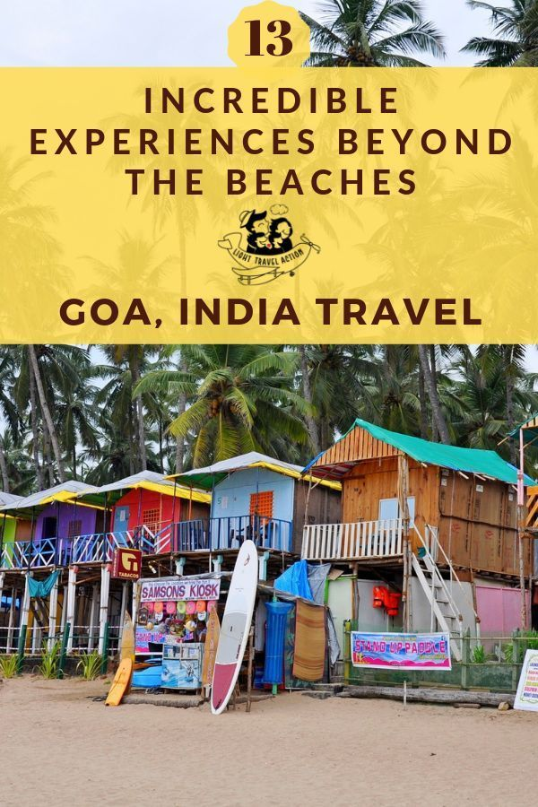 Travel Goa: Popular attractions to lesser-known hidden gems, explore Goa in a unique manner. It is one of the most popular photographic destinations in India due to its rich heritage, scenic beaches, tropical climate, exotic handicraft, and warm people. Wondering what to expect in Goa, India? Here's a first timer's guide! Check out these unique things to do in Goa, India and make the most of your vacation trying these fun activities #goaphotographyideas #goaindia #goaindiathingstodoin