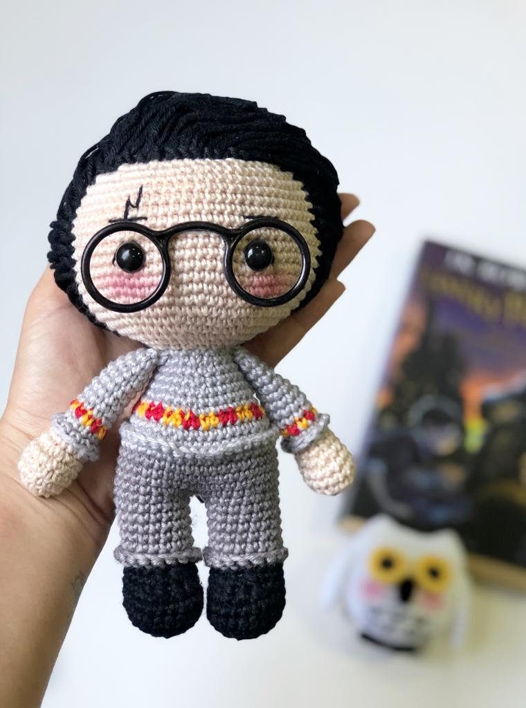 Harry Potter Amigurumi Pattern - Knot Bad | 1024x760